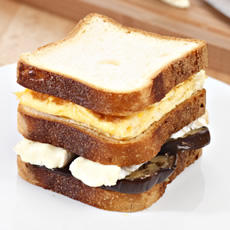 Pan Sandwich con berenjena sin gluten de Proceli