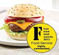 La Burger ProCeli galardonada sin gluten de Proceli