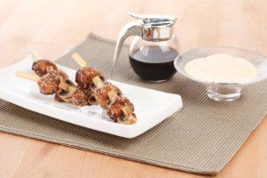 Brocheta de pollo sin gluten de Proceli