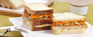Club sandwich sin gluten de Proceli
