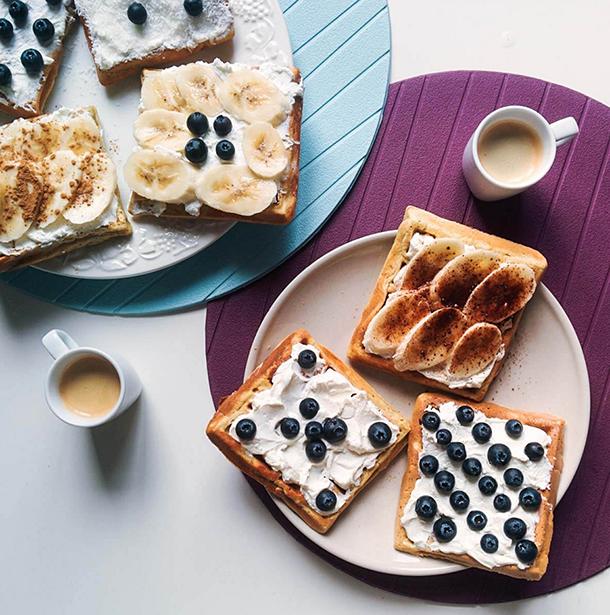 Desayuno sano sin gluten de Proceli