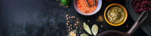 pesto y legumbres sin gluten de Proceli