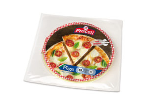 Pizza al estilo italiano sin gluten de Proceli