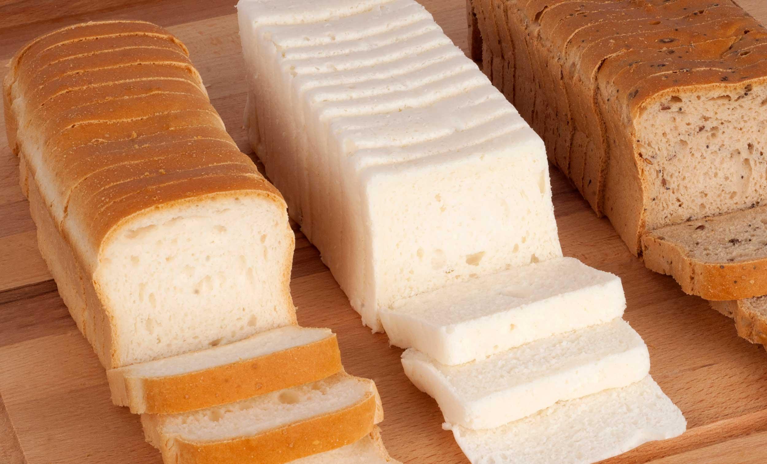 3 tipos de panes a elegir sin gluten de Proceli