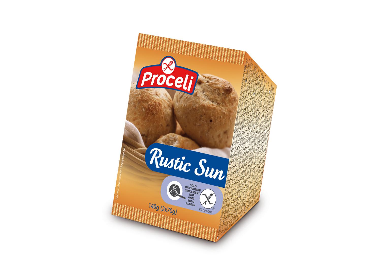 Rustic Sun sin gluten de Proceli