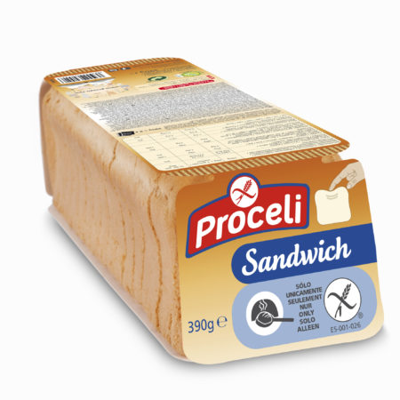 Sandwich Gluten-free from Proceli