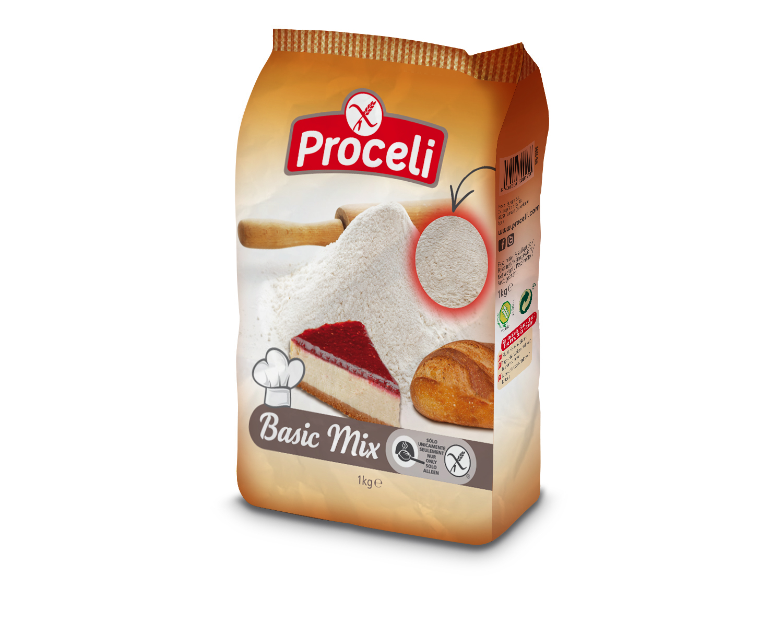 Basic Mix de calidad sin gluten de Proceli