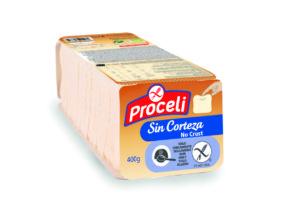 Blandito, sin corteza y sin gluten con Proceli