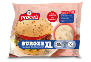 Burguer para hornear sin gluten de Proceli