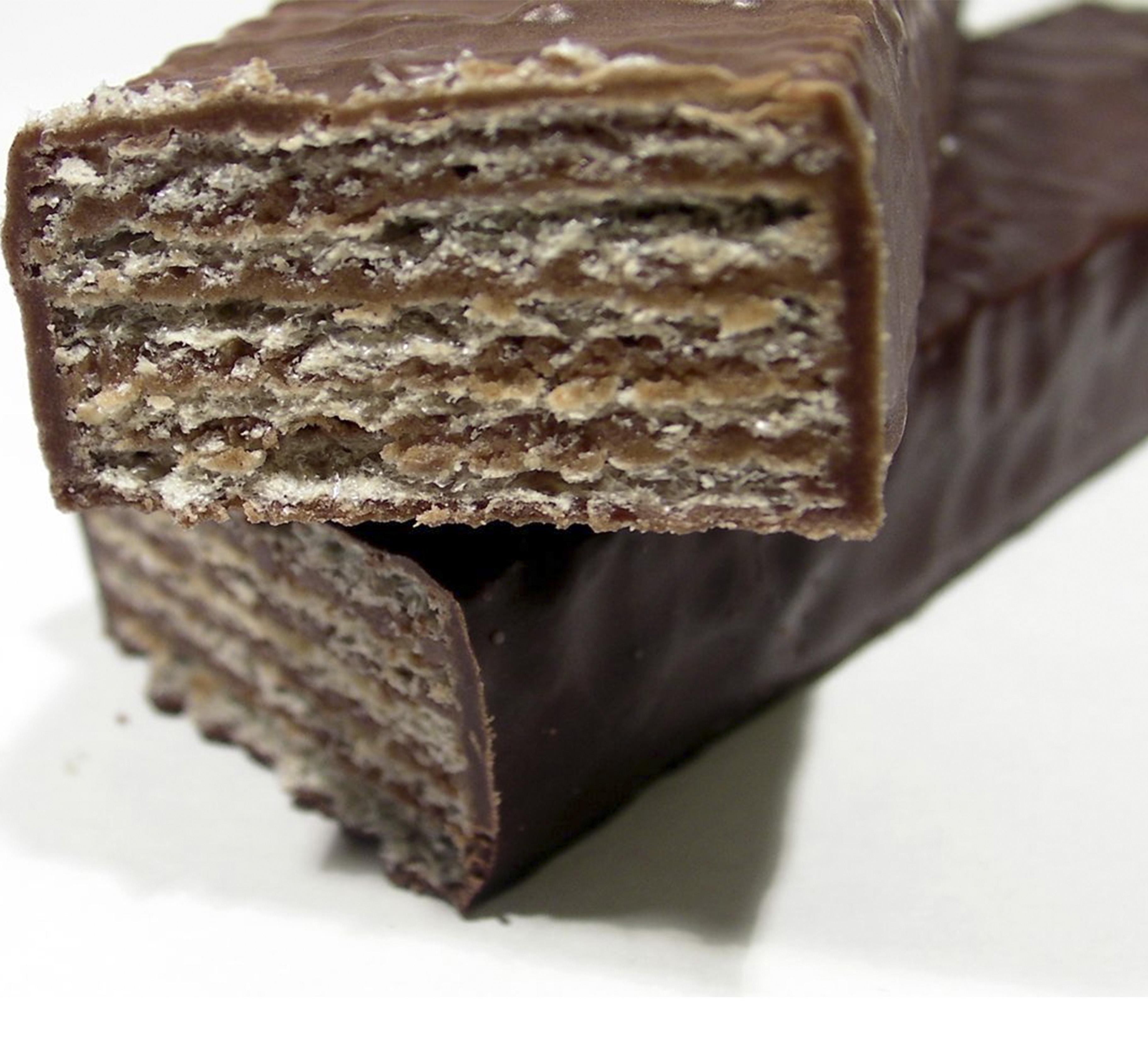 Choco Wafers sin gluten de Proceli