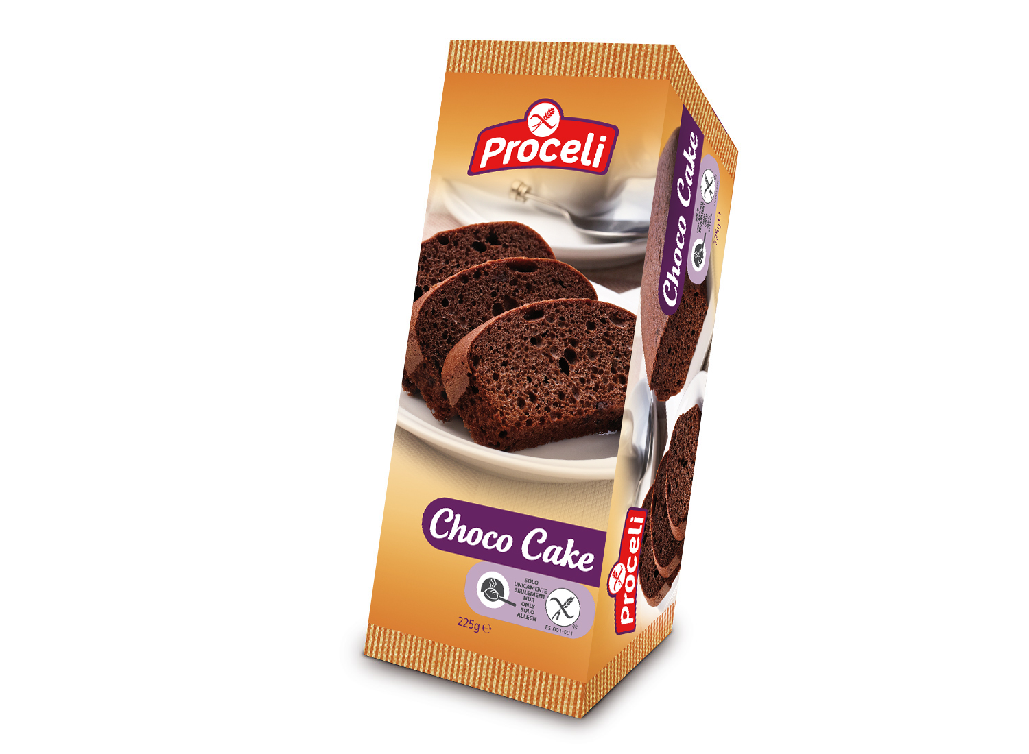 Chocolate-Cake gluten-free from Proceli