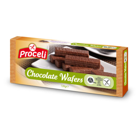Chocolate Wafers sin gluten de Proceli
