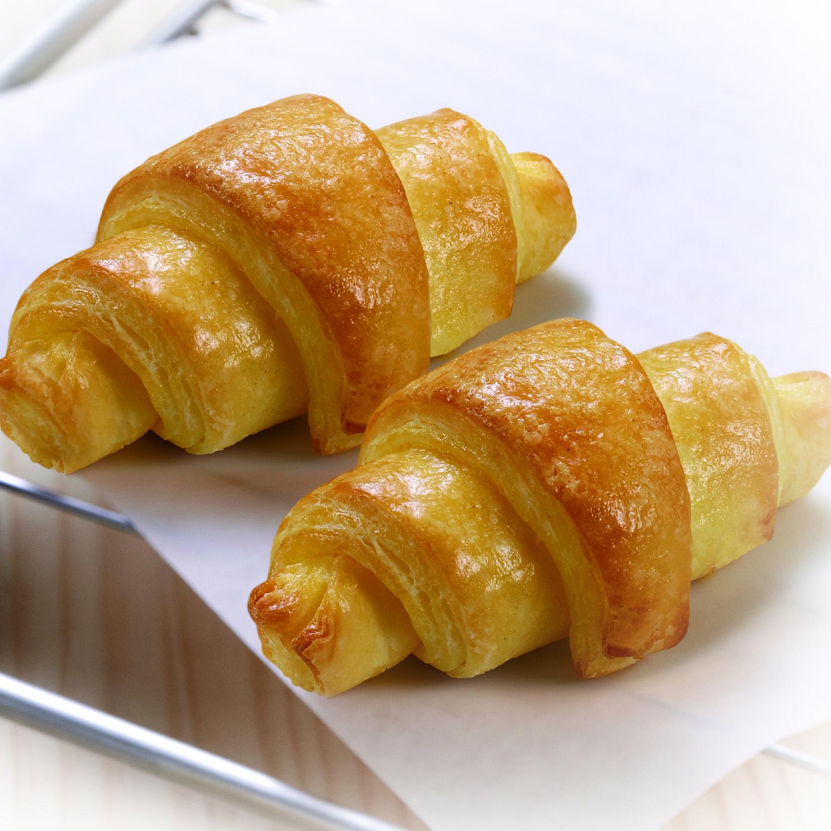 Croissant sin gluten de Proceli listo para hornear