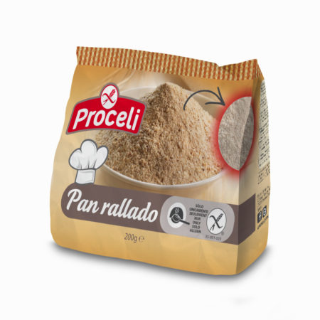 Gluten-free Crumbs fom Proceli -pack
