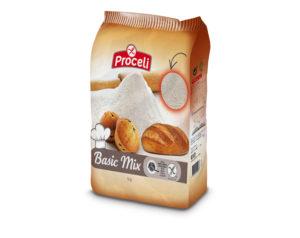 Harina Basic Mix sin gluten de Proceli