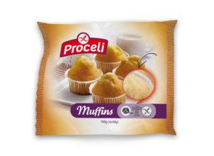 Muffins tiernos y sin gluten de Proceli para toda la familia