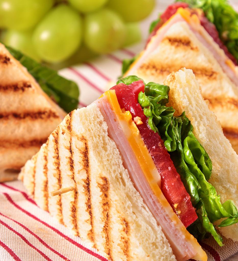 Summer picnic club sandwich sin gluten de Proceli