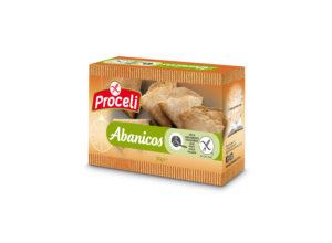 abanicos sin gluten de Proceli