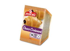 Choco croissant sin gluten de Proceli