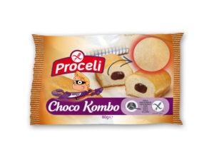 Choco Kombo sin gluten de Proceli