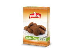 cookies cacao sin gluten de Proceli