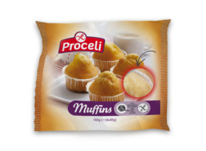 muffins al estilo casero sin gluten de Proceli
