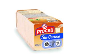 Pan de molde sin corteza tierno, sabroso y sin gluten de Proceli