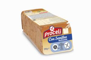 Pan de molde tierno y con semillas Proceli sin gluten