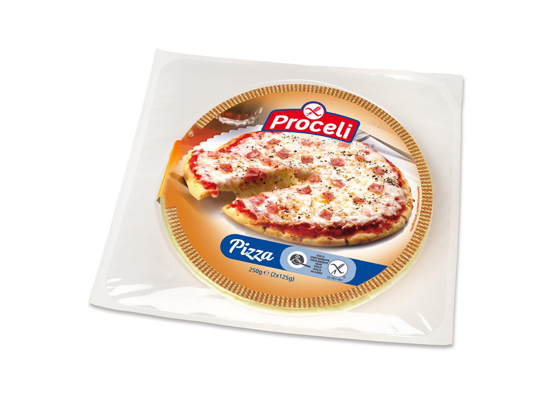 Sabrosa pizza Proceli sin gluten