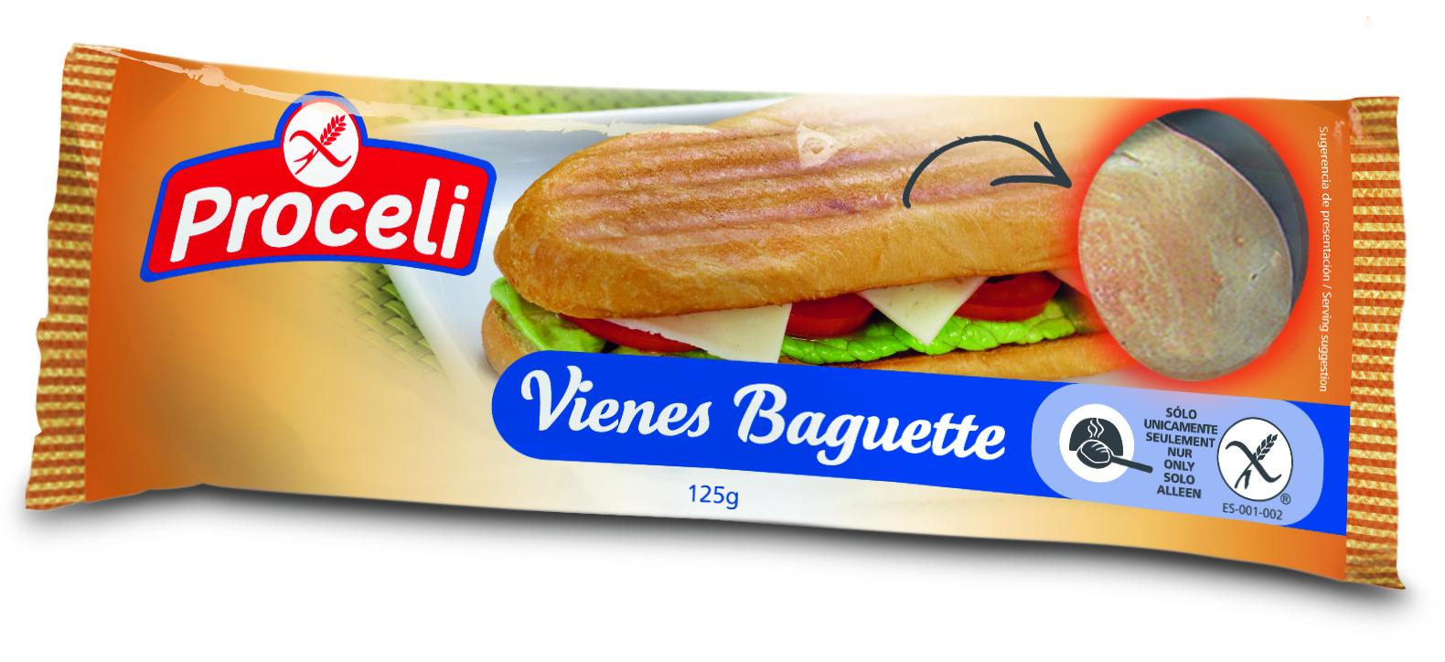 Viene Baguette de Proceli sin gluten