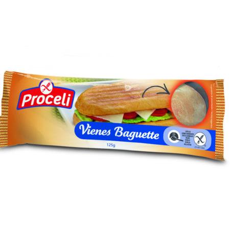 Vienes Baguette crujiente sin gluten de Proceli