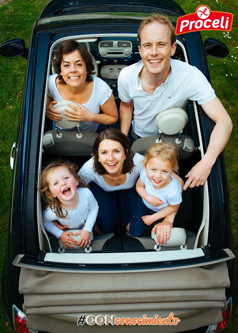 Viajar en familia sin gluten con Proceli