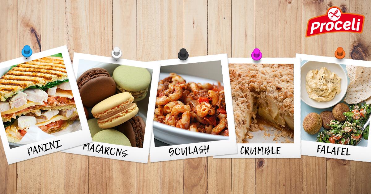 5 delicias internacionales sin gluten con Proceli