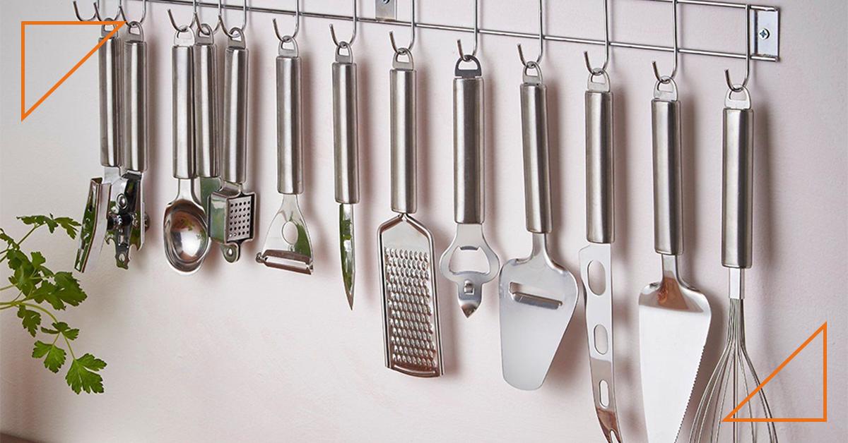 Consejos de mantenimiento y limpieza de los utensilios en la cocina celíaca