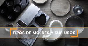 Tipos de molde para usar al hacer repostería sin gluten