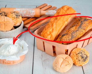 Receta de Pan de molde sin gluten hechos con Basic Mix de Proceli