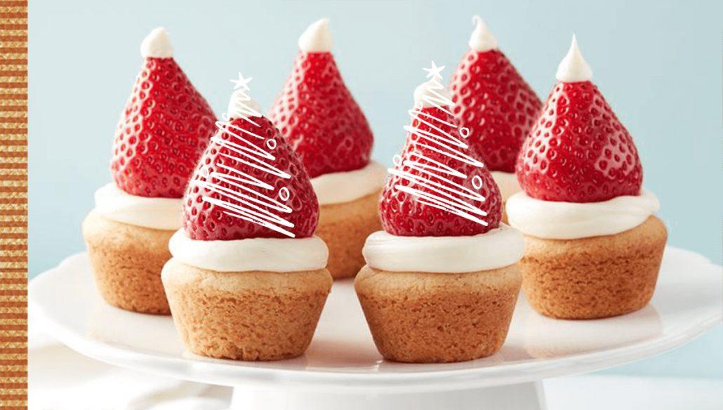 Prepara las magdalenas sin gluten más originales e irresistibles en navidad