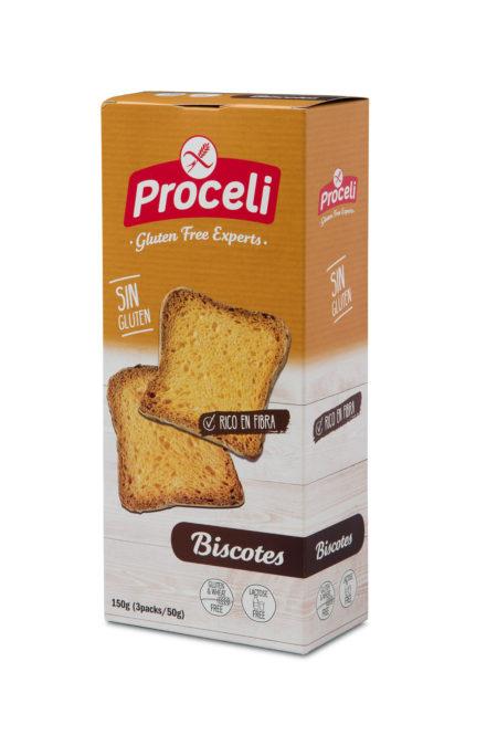 Biscotes Proceli sin gluten