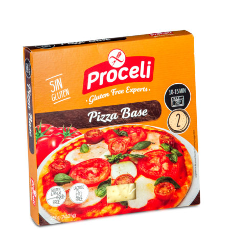 BASE PIZZA SIN GLUTEN PROCELI