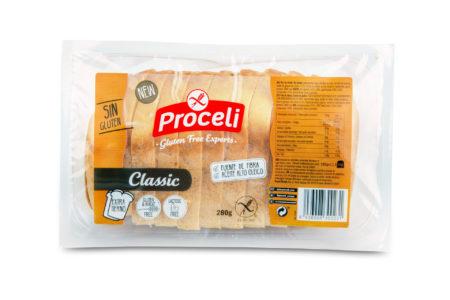 Pan molde classic sin gluten proceli
