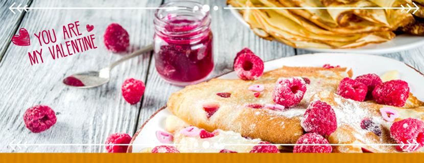 Cómo sorprender a tu cita de San Valentín con unas deliciosas crepes al estilo francés