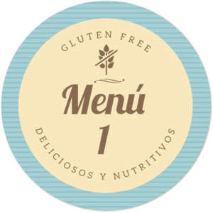 menu sin gluten muy nutritivo 1 de Proceli