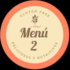 menu sin gluten delicioso 2 de Proceli