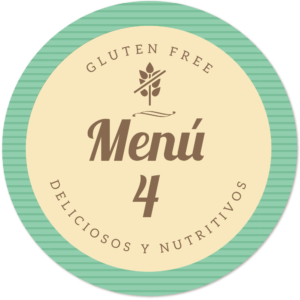 menu sin gluten4 de Proceli